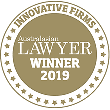 Most Innovative Law Firm - 2019 Australasian Lawyer