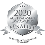 2020 Excellence in Technology & Innovation – Finalist – Australasian Law Awards