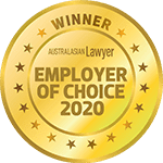 2020 Employer of Choice – Winner – Australasian Lawyer