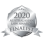 2020 Law Firm of the Year Finalist - Australasian Law Awards