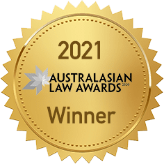 2021 Law Firm of the Year - Australasian Law Awards